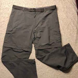 Cabela's 44/32 Great Trail ZIP Off Pants Shorts